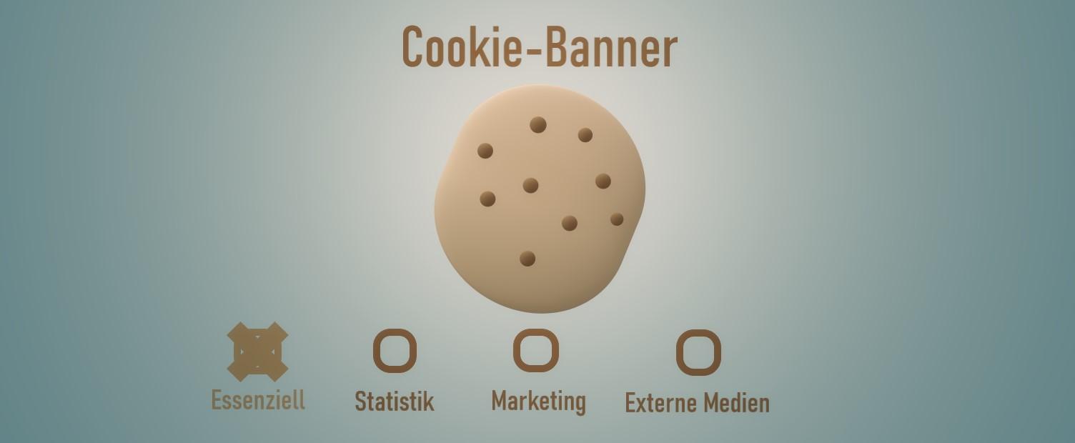 Cookie-Banner Datenschutz DSGVO